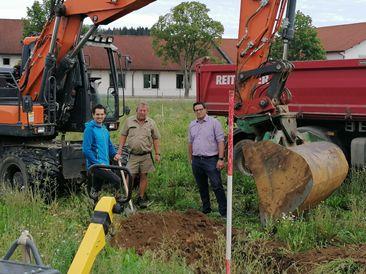 """Baubeginn im neuen """"Mischgebiet Nord III"""""""