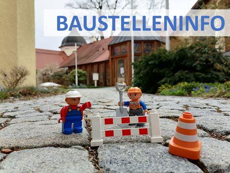 Baustellen-Information: Markierungsarbeiten Schmiedgasse