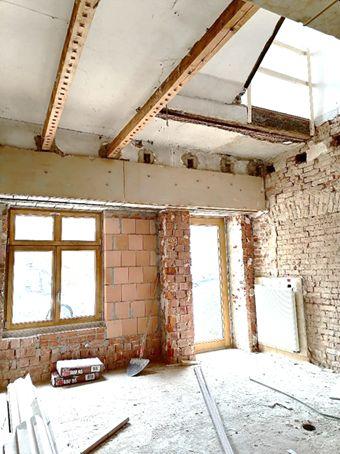 Bauarbeiten am Schloss gehen voran