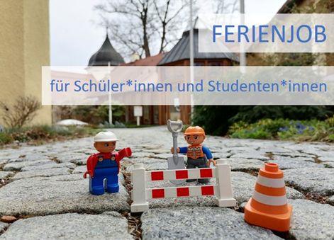 Ferienjob für Schüler*innen und Studentin*innen