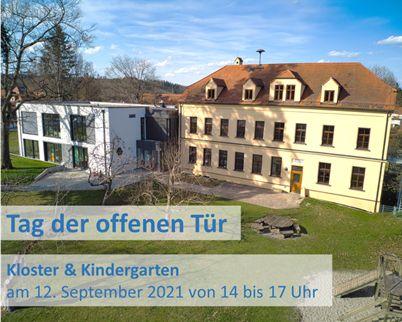 12. September 2021 - Tag der offenen Tür im Kloster und Kindergarten